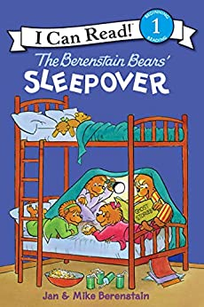 The Berenstain Bears' Sleepover (I Can Read Level 1) by [Jan Berenstain, Mike Berenstain]