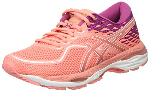 Asics Gel-Cumulus 19, Zapatillas de Running para Mujer, Rosa (Begonia Pink/Begonia Pink/Baton Rouge 0606), 39.5 EU
