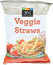 365 Everyday Value, Veggie Straws, 6 oz