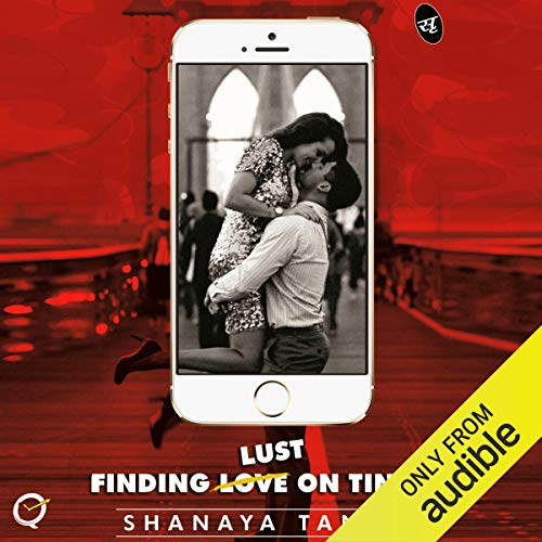 Finding Lust on Tinder audiobook cover art