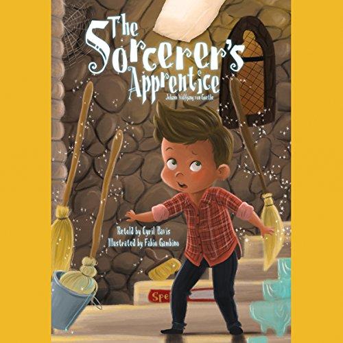 The Sorcerer's Apprentice audiobook cover art