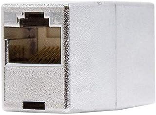 NANOCABLE 10.21.0403 - Empalme para Cable de Red Ethernet RJ45, apantallado, Hembra-Hembra, Cat.5e, STP