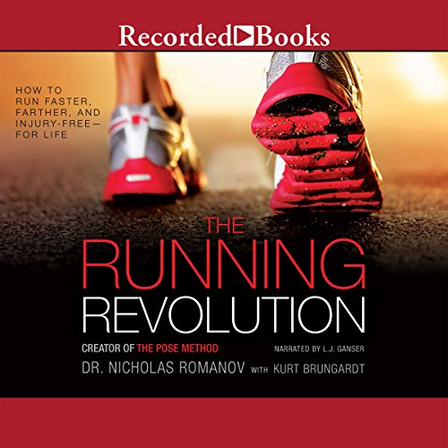 The Running Revolution audiobook cover art