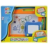 Simba 106332216 - Art & Fun 2 Maltafeln 40 x 29 cm und 16 x 13 cm -