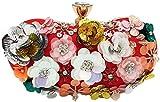 LXDDJsl - Bolso de mano para mujer, diseño de flores, 4 colores (color: dorado), color rojo