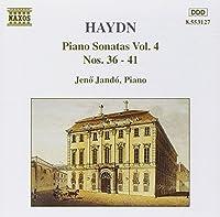 Piano Sonatas 36-41