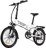Vivi Folding Electric Bike,...