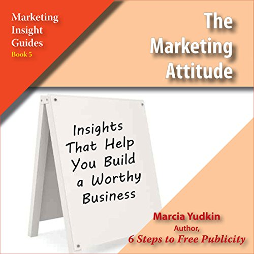 The Marketing Attitude audiobook cover art