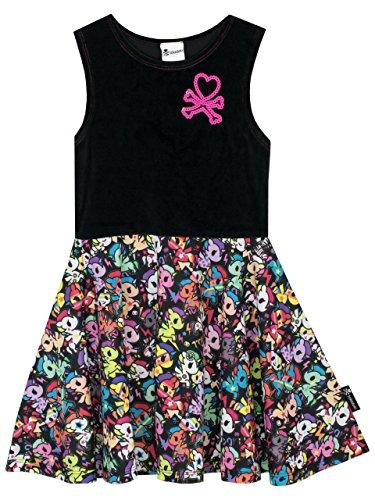 Tokidoki - Vestido para Niñas - Tokidoki - 12 a 13 Años