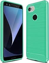 Google Pixel 3 Case,Pixel 3 Case, Sucnakp TPU Shock Absorption Technology Raised Bezels Protective Case Cover for Google Pixel 3 Case (Mint Green)