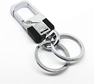 HEALTHLL Fashion Key Chain Double Loops Pants Buckle Key Ring Waist Belt Clip Car Ornament Accessories