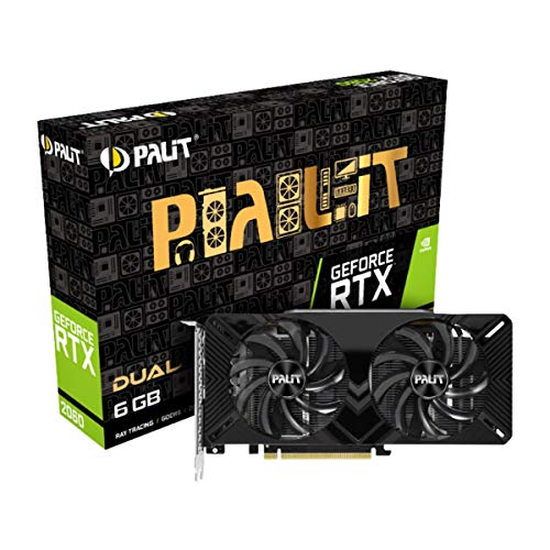 Palit Grafikkarte GeForce RTX 2060 Dual - 6GB GDDR6