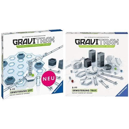 GraviTrax 27611 Lift Spielzeug, bunt & 27595 Trax Konstruktionsspielzeug