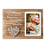 VILIGHT Memorial Picture Frame Sympathy Gifts for Loss of Loved One - Remembrance and Bere...