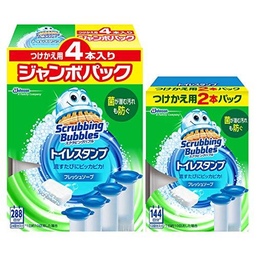 【Amazon.co.jp 限定】【まとめ買い】 スクラビングバブル トイレ洗浄剤 トイレスタンプ フレッシュソープ...