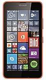 Microsoft Lumia 640 Smartphone, Dual-SIM, Display HD-IPS 5 Pollici, Processore Quad-Core 1,2GHz, Fotocamera 8 MP, Memoria 8GB, Win 8.1, Arancione [Germania]