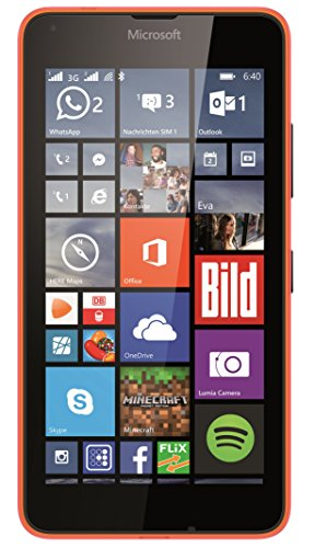 Microsoft Lumia 640 Smartphone débloqué 3G (Ecran : 5 pouces - 8 Go - Double SIM - Windows Phone 8.1) Orange (import europe)