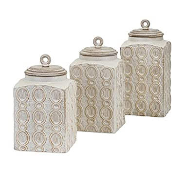 Imax 95792-3 Dreanna Canisters Kitchenware Products (Set of 3)
