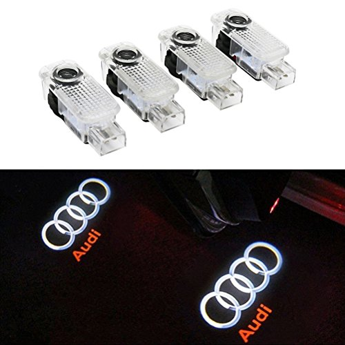 Inlink Courtesy Lighting Door Shadow Lamps 3D Logo Projector Door Logo Lights (4-Pack)