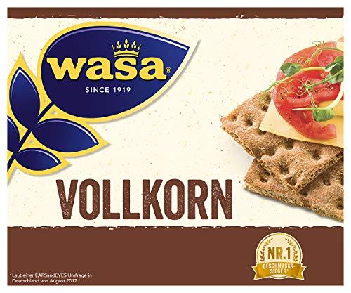 Wasa Knäckebrot Vollkorn, 12er Pack (12 x 260g)