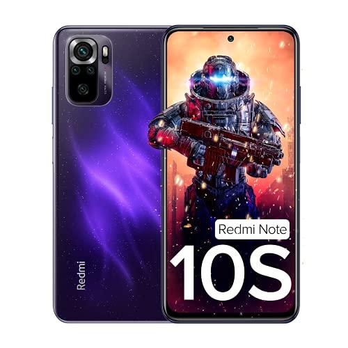 Redmi Note 10S (Cosmic Purple, 6GB RAM, 64 GB Storage) – Super Amoled Display   64 MP Quad Camera   Alexa Built in