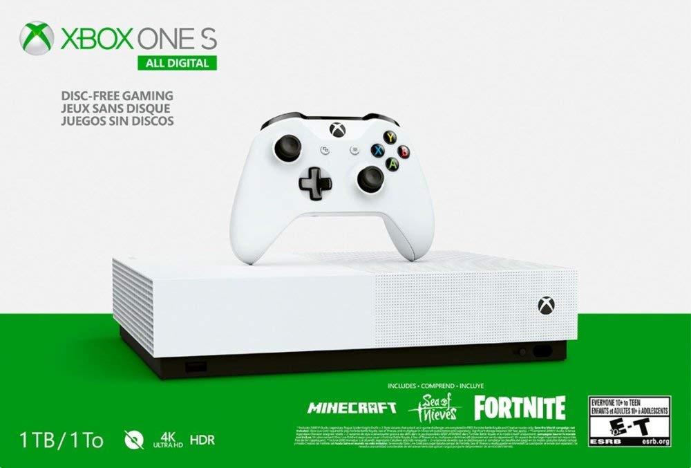 Xbox One S 1 TB All-Digital Edition paquete de dos controladores ...