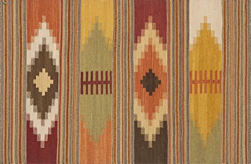 Vilber Bohemian Kilim 2576 Alfombra, Vinilo, Multicolor, 100x153x0.2cm