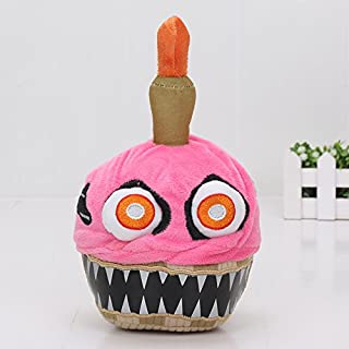 Grocoto Movies & TV - Five Nights at Freddy's Series 2 Nightmare Cupcake Neon 8-Inch Plush Toy FNAF Toys Stuffed Dolls 1 PCs