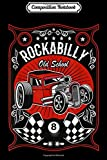 Composition Notebook: Hotrod Rockabilly Vintage American Classic Cars Gifts Journal/Notebook Blank Lined Ruled 6x9 100 Pages
