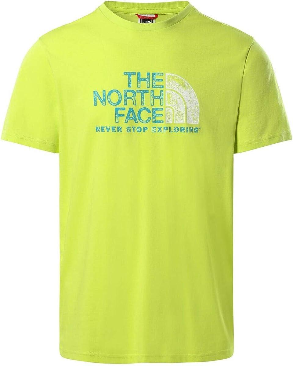 The North Face Men's S/S Rust 2 tee Camiseta Hombre