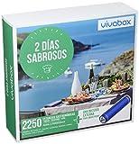 VIVABOX Caja Regalo -2 DÍAS SABROSOS- 1.300 estancias. Incluye un Regalo - batería portátil