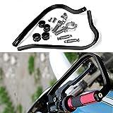 Triclicks Paramani per Moto /Motocross Manubrio 7/8' 22mm Alluminio Universale Nero