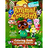 Animal Crossing New Horizons Coloring Book For Kids&Adults ACNH Fans: Incredibly Highly Detailed Pictures Of ACNH Characters | Creativity Booster & Stress (Animal Crossing New Horizons Guides)