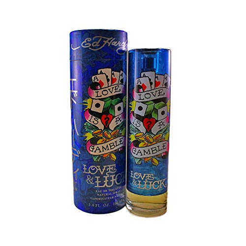 Ed Hardy Love & Luck Men, Eau de Toilette, 100 ml, 1er Pack (1 x 100 ml)