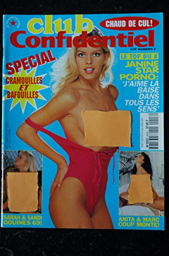 CLUB CONFIDENTIEL 3 1995 JANINE INTEGRAL NUDES EROTIC GIRLS CHARME DESIRS