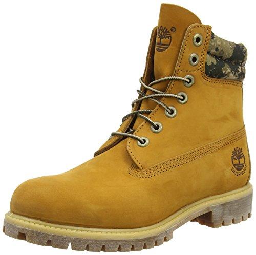 Timberland 6 in Boot FTB_6 in Double Collar Boot, Sneaker Alta Uomo, Marrone (Marrone (Grano)), 49