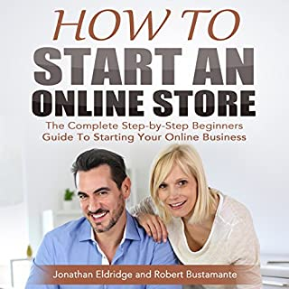 How to Start an Online Store audiobook cover art