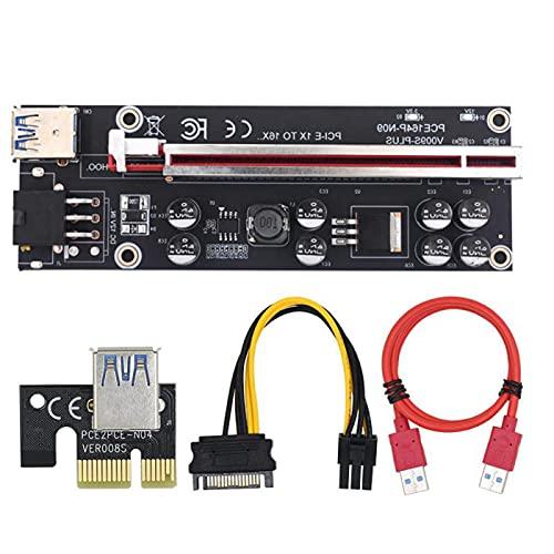 wangshang Upgraded PCI-E Riser mit LED...