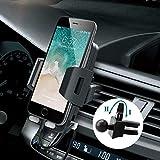 Avolare Multi-Support Téléphone Voiture Support Auto Universel Grille d'aération Air Vent pour Samsung Galaxy S7,a5,j5,iPhone X,iPhone 6S,7 Plus,8,Nexus,HTC,Motorola,Sony et d'autres Téléphones