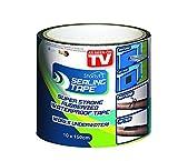 BEST DIRECT Sealing Tape Visto en TV Cinta adhesiva Selladora Multiusos Impermeable Sellar Agujeros, Tuberías, Fugas de Aire y Agua en el Hogar - MEDIDA Extra Large 10x150