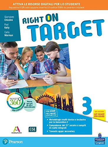 Right on target. Per la Scuola media. Con e-book. Con espansione online: 3