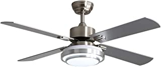 Warmiplanet 52-inch indoor ceiling fan with integrated...