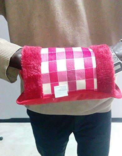 Bolsa de agua caliente eléctrica para la barriga, con bolsillos para las...