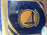 NBA Golden State Warriors Royal Plush Raschel QUEEN Throw Blanket 76' x 94 (Queen Size)