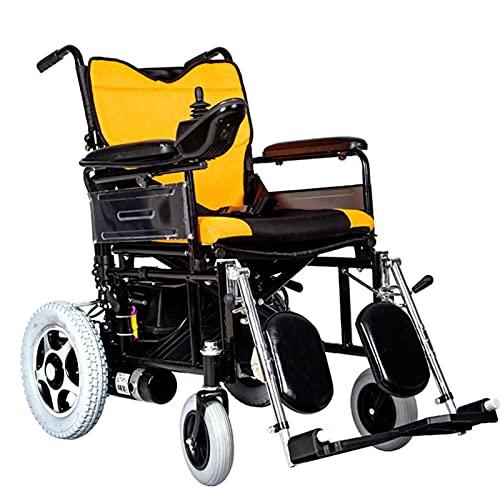 Sillas De Ruedas Eléctricas, Sillas De Ruedas Para Silla de ruedas eléctrica clara, silla de ruedas para discapacitados, material de acero inoxidable, diseño ergonómico compuesto, control remoto de 36