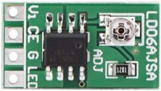 Einstellbarer Strom LED Treiber, 9W DC 3,3V 3,7V 5V LED Treiber 30 1500mA Konstantstrom Einstellbares Modul für LED 18650 Li Ion