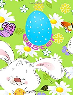 Easter: Coloring Book For Children Perfect For Easter Sunday | Color Easter Eggs, Easter Bunnies, And Easter Baskets