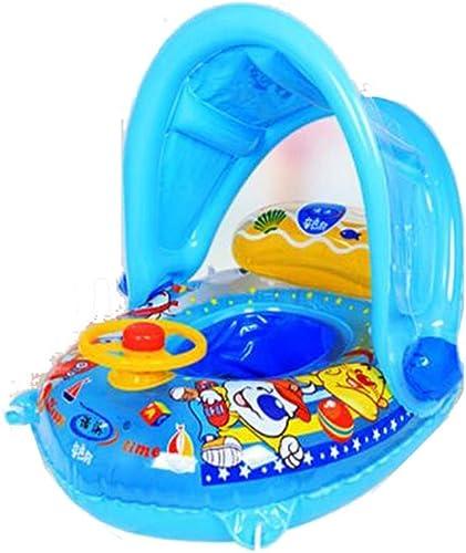 precio razonable LICCC Sombrilla Anillo de natación natación natación Niños Anillo de Axilas Anillo Inflable multifunción - con Bolsa de Aire Trasera (Color   A)  estar en gran demanda