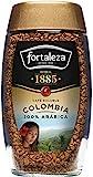 Café Fortaleza - Café Soluble Frasco, Café de Colombia, Puro Sabor, 100% Arábica, Tueste Natural, Pack 100g x 6 - Total 600g
