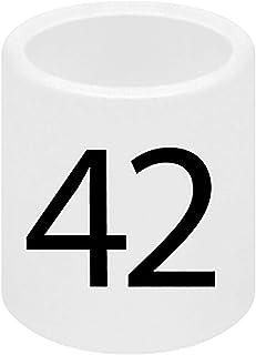 SSWBasics Mini Slip On Size Markers - Size 42- Pack of 50